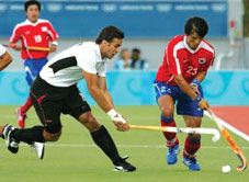 International Hockey: Germany vs Chile